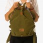 CITTA (Ha-B367) - Canvas Rucksack, stonewashed