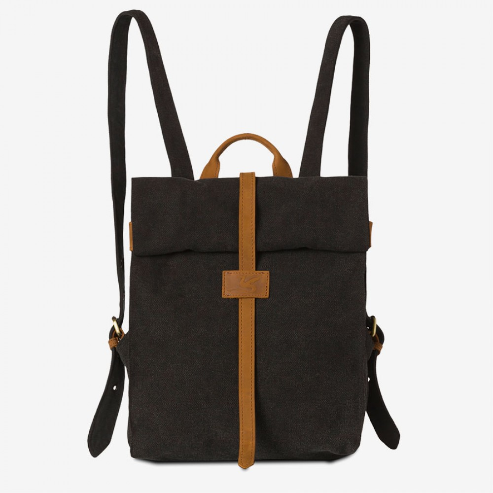 TRAMP (Ha-B419) Canvas Rucksack, stonewashed