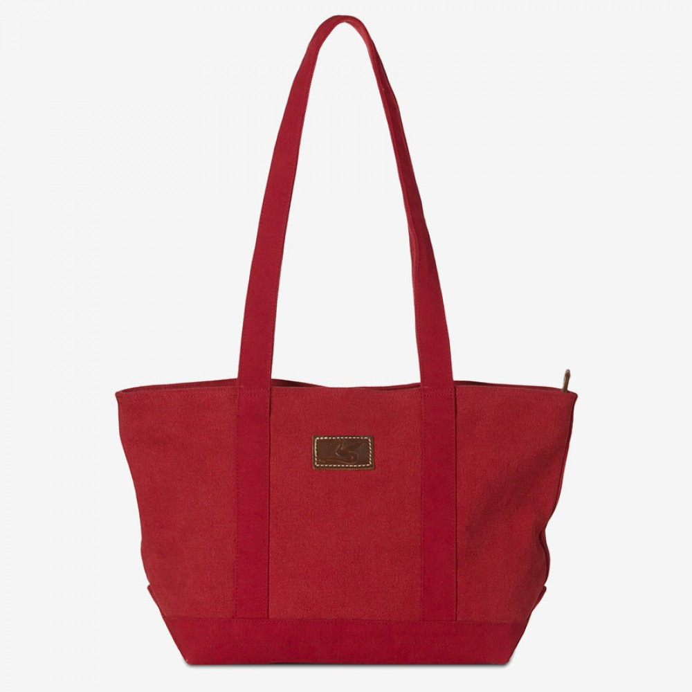 BERTA (Ha-Bm139) - Canvas Shopper, stonewashed