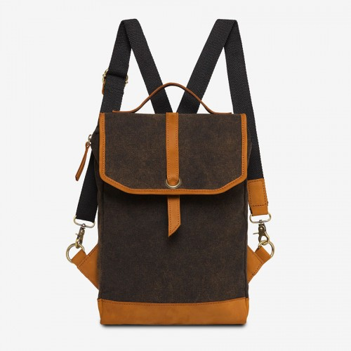 JESSE (Ha-B471) - Canvas Rucksack & Crossbody-/Laptoptasche