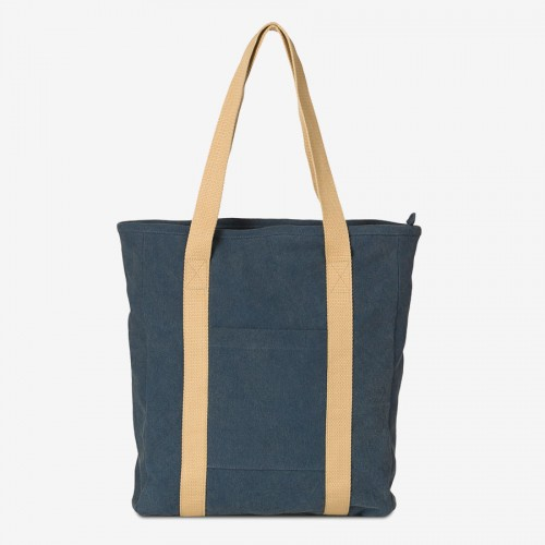 VALLY V. (Ha-B452) - Canvas Shopper, stonewashed